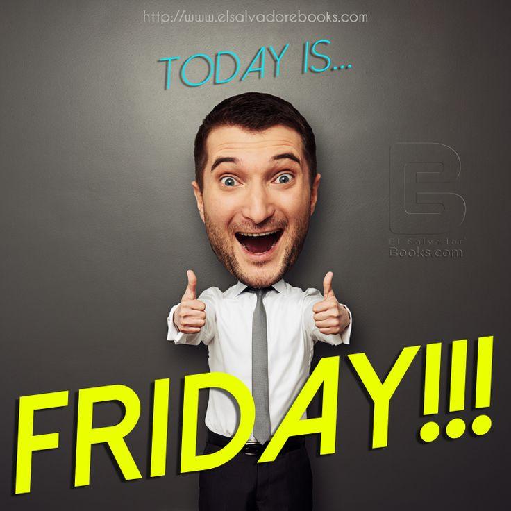 T.G.I #Friday's #Enjoy  http://www.elsalvadorebooks.com