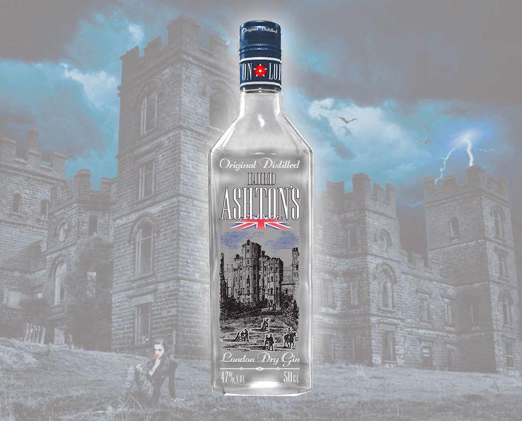 Lord Ashton's - is a lord of London's gin. Printed by DanCo Decor Company! #dancodecor #glsassdecor #glassdecoration #decor #decoration #glassprint #glass #glassart #packaging #packagedesign #bottle #bottledesigne #gin # london #alkohol #ashton #ukraine #данкодекор #декораторстекла #декорстекла #декор #стекло #стеклотара #бутылка #джин #лондон #алкоголь #дизайн #украина