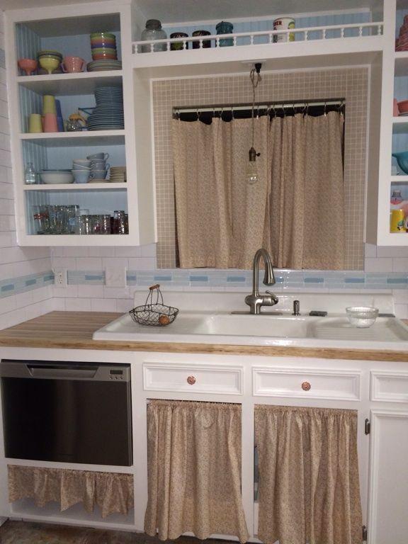 Under Sink Under Dishwasher And Window Curtains For My