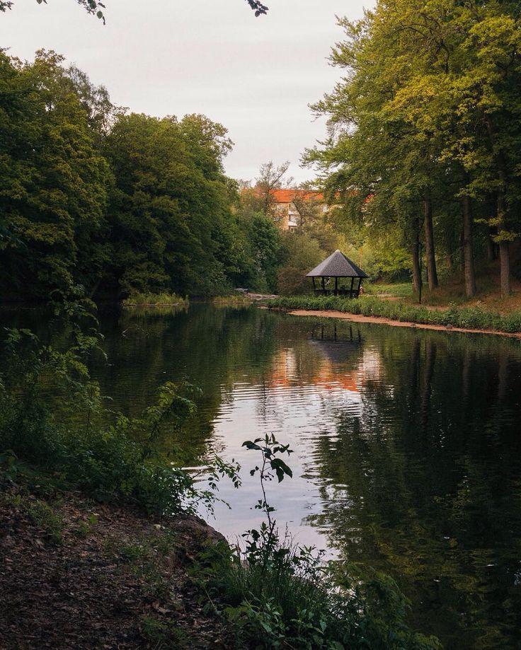 Somewhere in Helsingborg.  #peaceful #summer #lake #helsingborg #nature