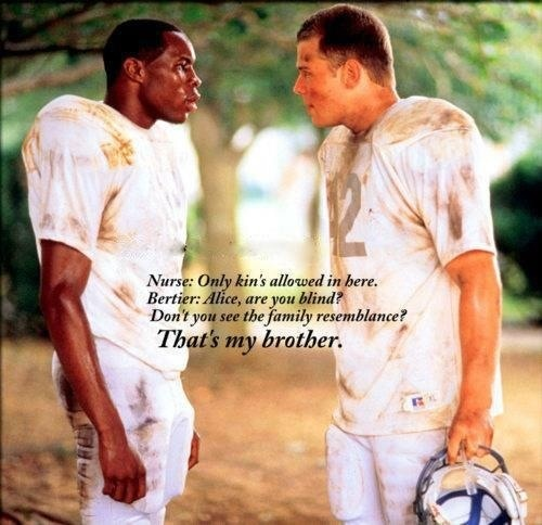 Remember the Titans - Based off of the story of the undefeated 1971 Virginia state champion T.C. Williams High School football team and linebacker and captian Gerry Bertier. Starring Will Patton (Coach Bill Yoast) and Denzel Washington (Coach Herman Boone)..... Football on my mind