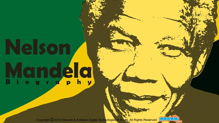 Nelson Mandela's became the first black President of South Africa in 1994. Know more about #NelsonMandela's life, political career, achievements and quotes. To read more short biographies of #famouspeople, visit: http://mocomi.com/learn/culture/famous-people/