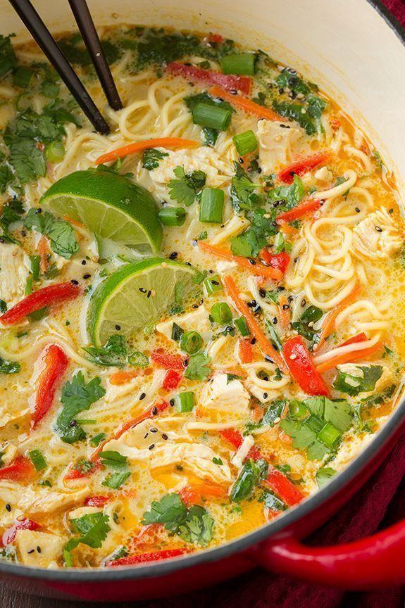 Thai Chicken Ramen | Cooking Classy