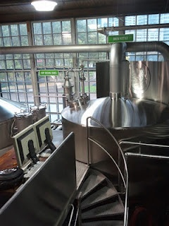 Steam Whistle brewery in Toronto.  They focus on one thing: A Czech-style pilsner.    http://www.steamwhistle.ca/