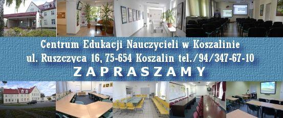 Centrum Edukacji Nauczycieli w Koszalinie Awans zawodowy http://www.cen.edu.pl/cen_serwis/?id=12