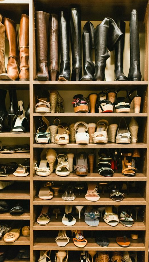 Check How You Can #Organize Shoes And Boots. Now Organize Your Closet Onto  Your