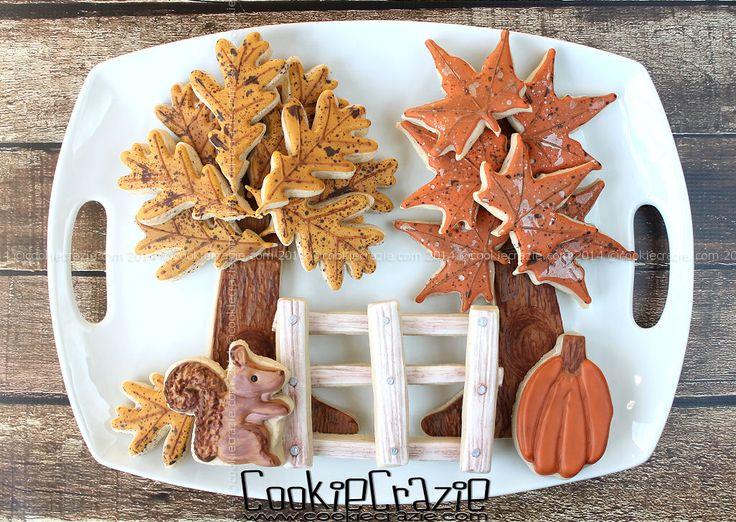 http://www.cookiecrazie.com/2014/10/autumn-tree-cookie-platters.html
