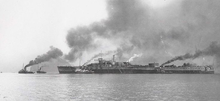 """The Tosa-class battleships were two dreadnoughts ordered as part of the """"Eight-Eight"""" fleet for the Imperial Japanese Navy during the early 1920s. The ships were larger versions of the preceding..."""