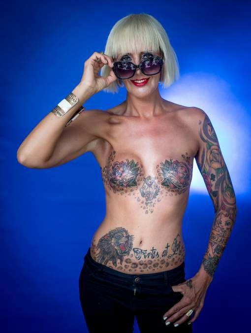 """Waarom wij geen spijt hebben van onze tattoo: """"Ik kon kanker afsluiten, met…"""