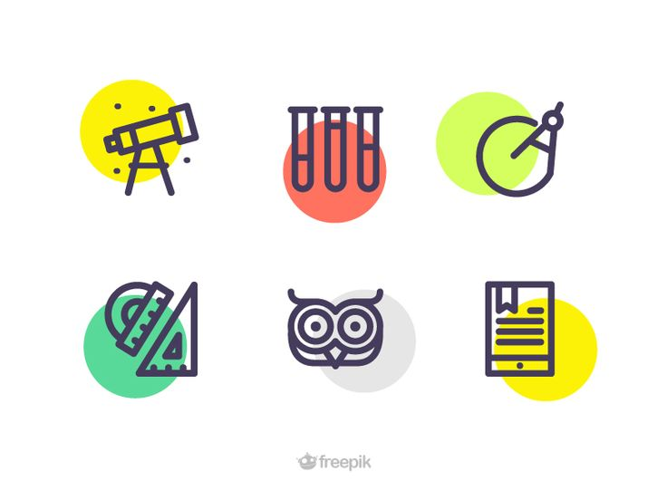 Education Icons by Sooodesign