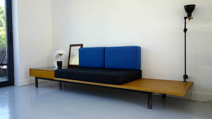 Charlotte Perriand, bench with drawer « Cansado ». 1958Maison Verrsen | Maison Verrsen ...