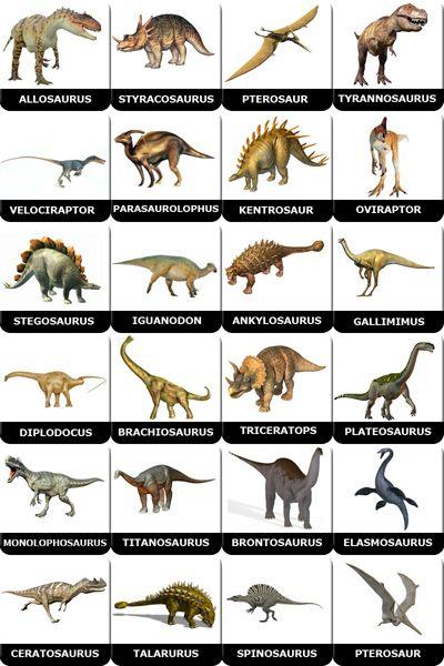 memory dinosaurs to print
