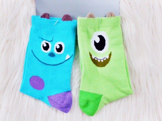 Disney Store Haul: Monsters Inc Disney Store Socks