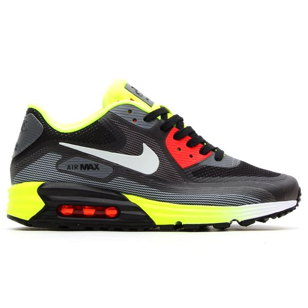 Nike Air Max Lunar 90 C3 0 Mens Shoes White Gray Orange