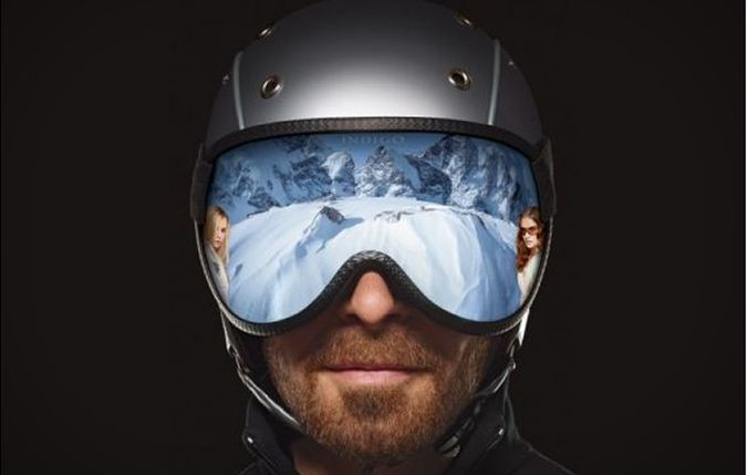 Indigo 180 Degree Ski Helmet Visor