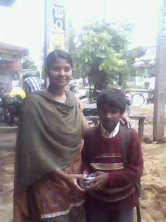 In Kolar by Asha............................................ By Megha and Moumita.