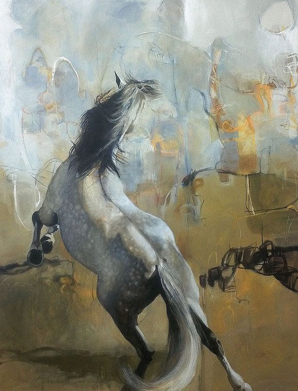 Karen Roehl Fine Art Paintings | Horses | Check out this beautiful Wix Portfolio