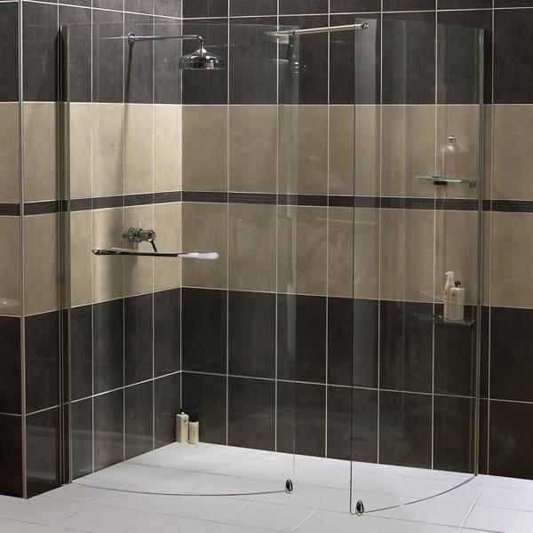 Doorless in Walk Shower Enclosures   Shower Enclosures   Shower Trays    Bath Screens   Steam48 best shower images on Pinterest   Bathroom ideas  Room and Home. Large Corner Shower Enclosures. Home Design Ideas