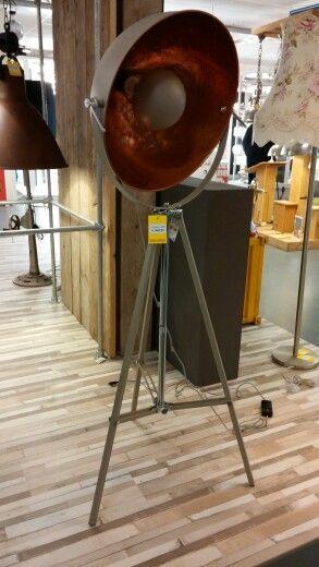 Koperen Lamp Interchalet