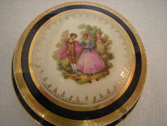 Hey, I found this really awesome Etsy listing at https://www.etsy.com/listing/230588420/cobalt-blue-limoges-fragonard-large-4-12