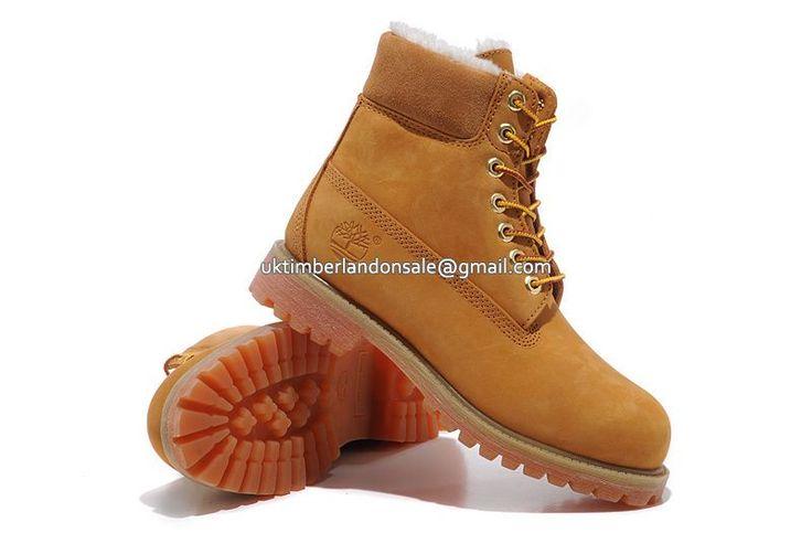 UK Timberland Women Classic 6 Inch Premium Waterproof Winter Fleece-Lined Boots Wheat Nubuck £ 71.99