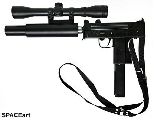 Die Klapperschlange: Mac 11 9MM Maschinenpistole, Fertig-Modell ... https://spaceart.de/produkte/ks001.php