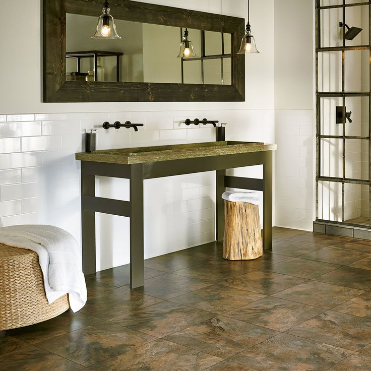 A Beautiful Textured Floor Can Be The Focal Point Amongst