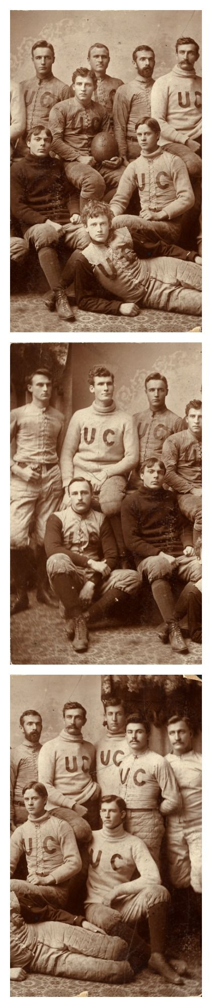 Some handsome vintage fellas! University of Chicago Football Team, 1892.
