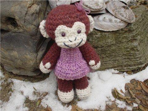 Amigurumi Easy Crochet Patterns : Best amigurumi monkeys images monkeys
