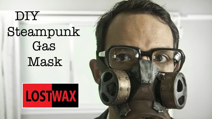 **Warning** This gas mask is a prop only and offers no actual protection! Links to products used here: http://www.lostwaxoz.com/product-links/ Everyone needs a gas mask in their collection of steampunk paraphernalia.