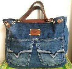 pabu: Jeans recycelt als Tasche Andrea Aporta