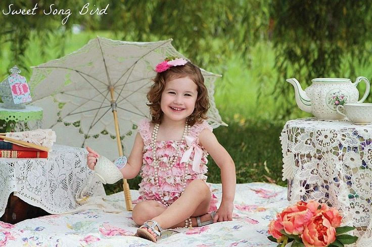Vintage Tea Party Photo Shoot