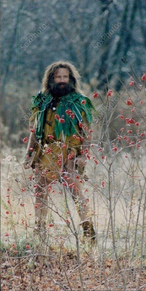 LG214 1995 Jumanji Robin Williams Dressed in Costume as Allan Parrish Photo