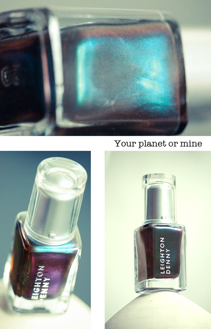 Leighton Denny // Your planet or mine & Soins Ecrinal