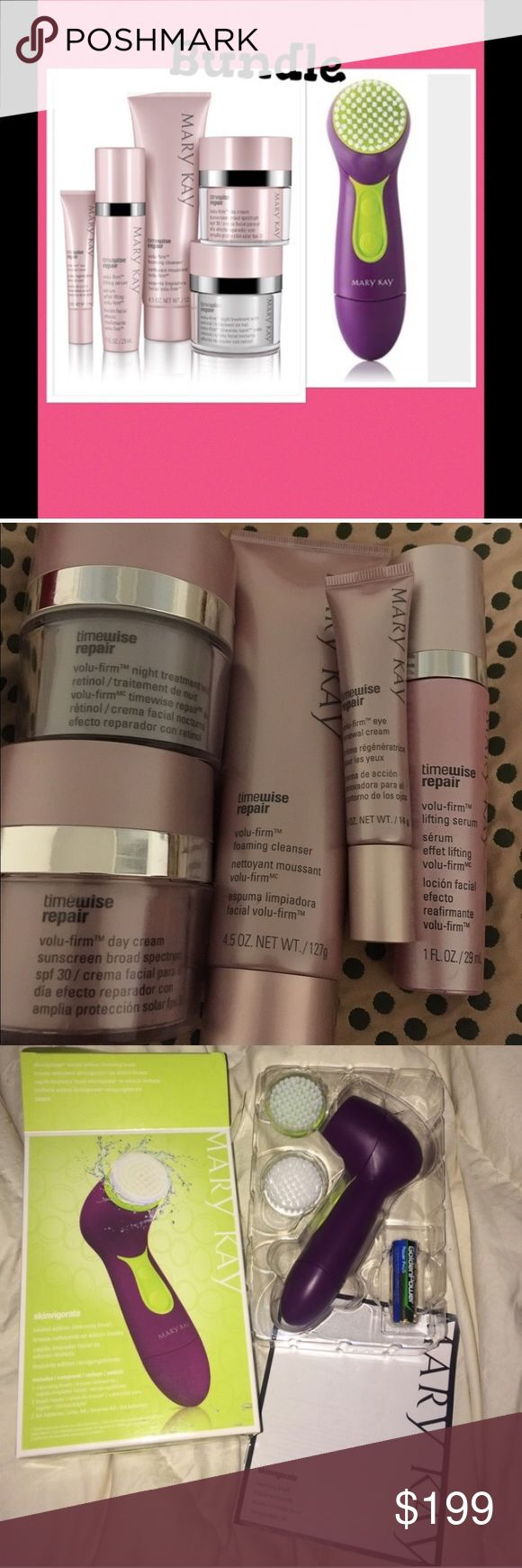 Time wise skin repair kit & face cleaning brush. New Mary Kay Other
