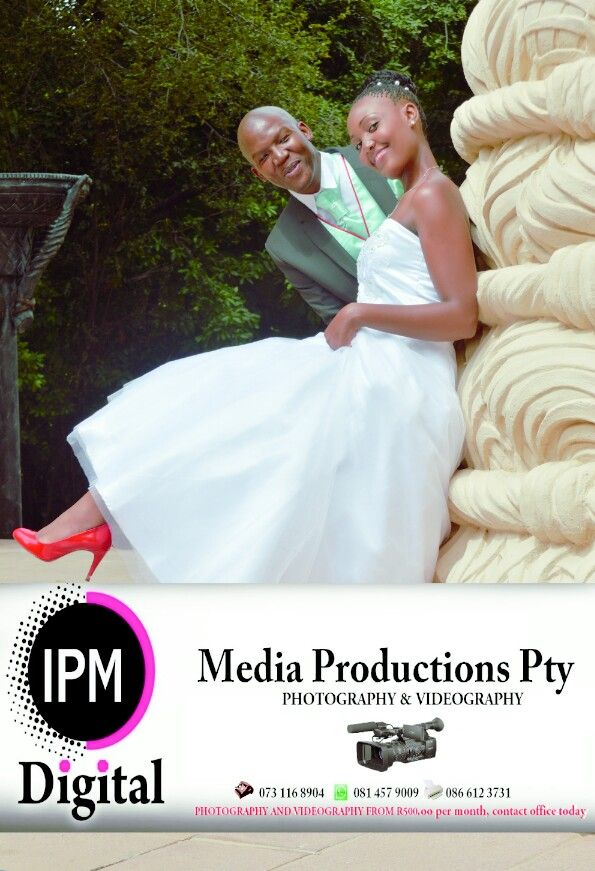 Wedding of Mr and Mrs Mahlangu , Photos taken at sun City  by Isaacs of Ipm Digital Media Productions pty.