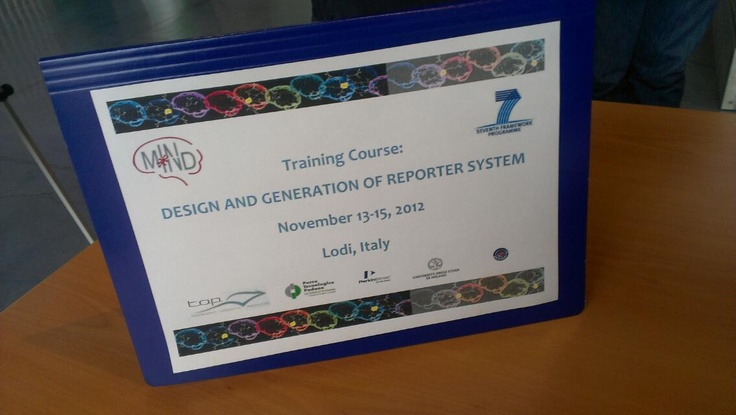 Design and generation of reporter systems - day 3 @ptplodi