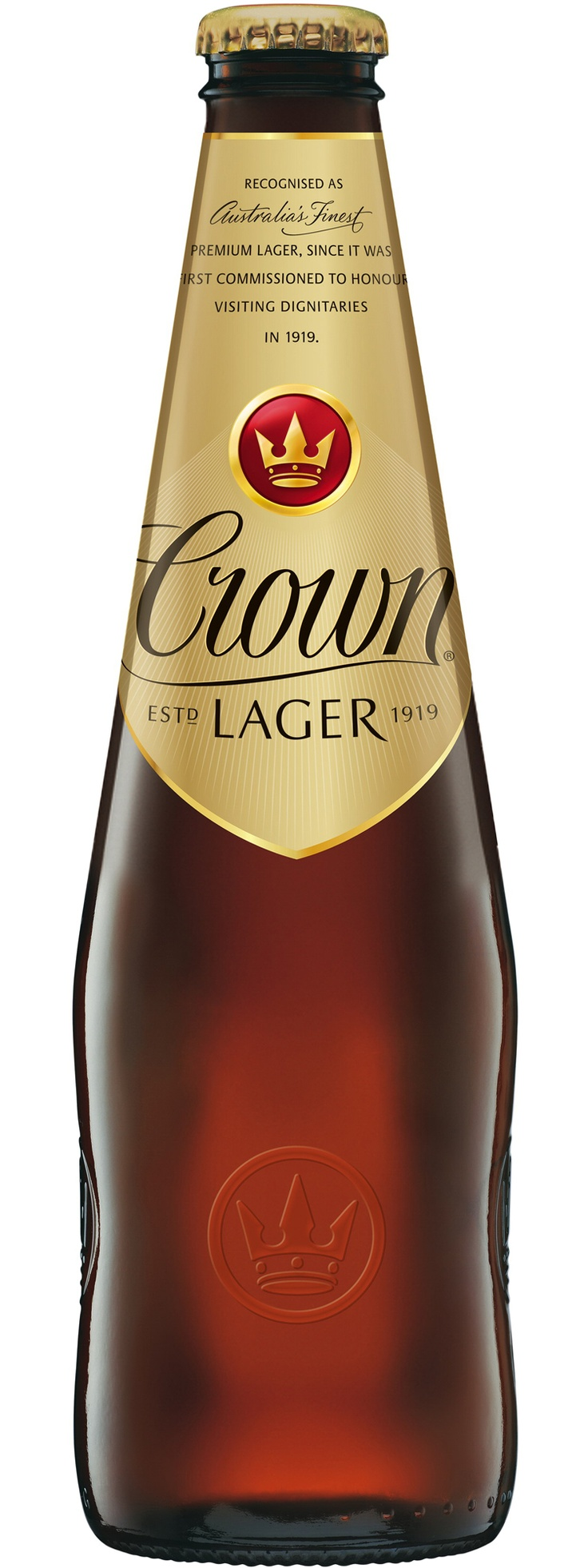 Crown Lager .. a long standing Australian Premium beer & a nice one at that