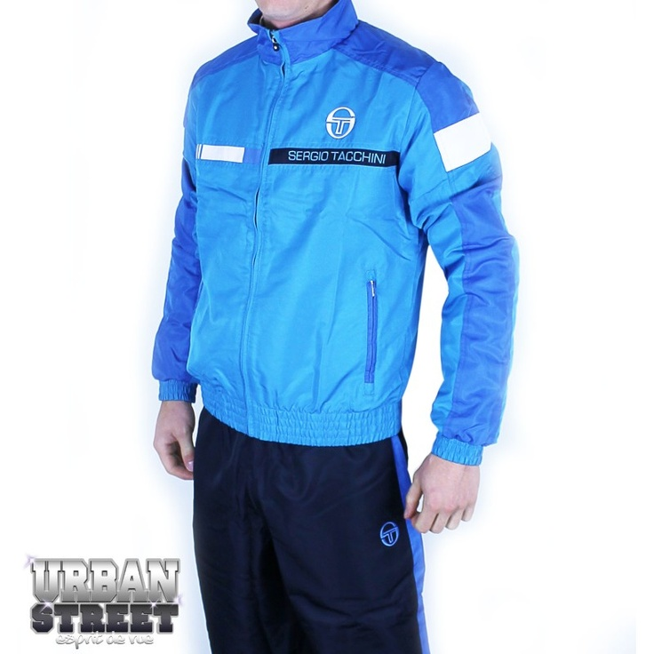 sergio tacchini ensemble de surv tement delano tracksuit turquoise navy 2013 s lection. Black Bedroom Furniture Sets. Home Design Ideas