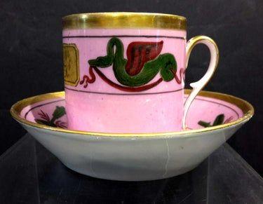 19th C. Old Paris Porcelain Cup & Saucer