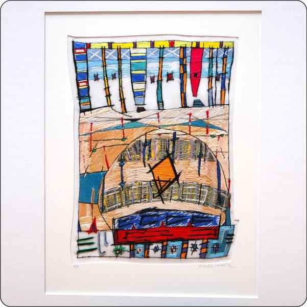 Stephen Sidelinger. embroidery