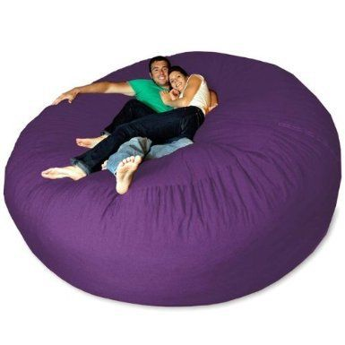 crystelli14's save of Micro Suede Giant Bean Bag Chair:Amazon:Home & Kitchen on Wanelo