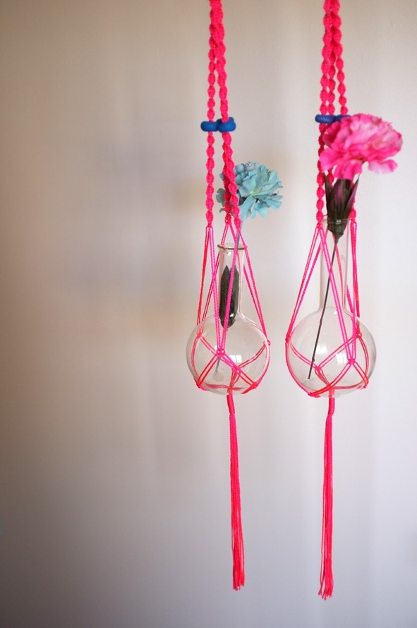Neon Macrame Hanger (limited run!)