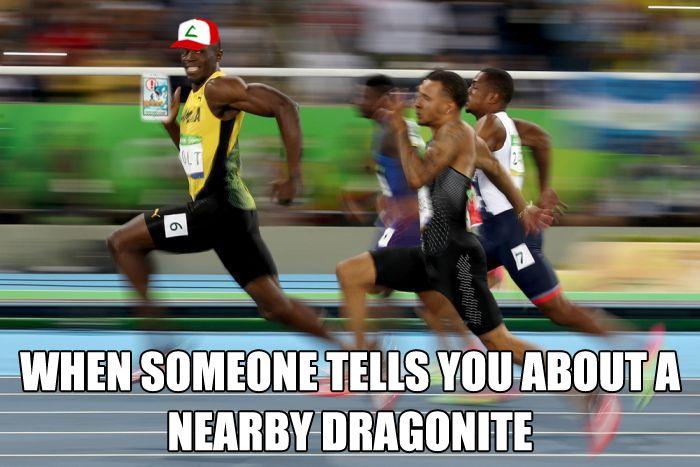 Just run to catch 'em all!