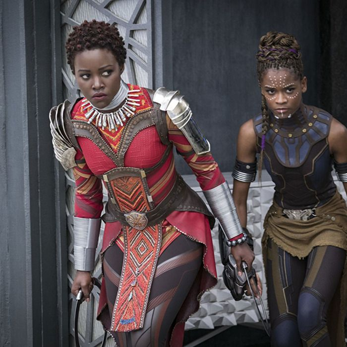 Why Everyone in Black Panther Wears Natural Hair natural hair wrap styles - Natural Hair Styles ...