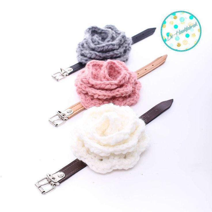Rozen met leren riempjes patroon bloem @byclaire_ riempjes staan in de webshop. #crochet #haken #haakverslaafd #crochetaddict #hekle #virka #virkning #häkeln #crochêt #croché #ganchillo #uncinetto #Handmade # #crochet #haken #hekle #virka #virkning #häkeln #crochêt #crochét #Handmade #craftastherapy #instacrochet #crocheterofinstagram #örgü #yarnaddict #yarn #hekledilla #hakenisleuk #hakeniship #happiness #crochetbag #leathertags #dehaakfabriek by dehaakfabriek