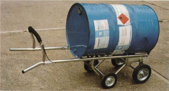 Multi Purpose Drum Trolleys  Spacepac Industries Online Store.