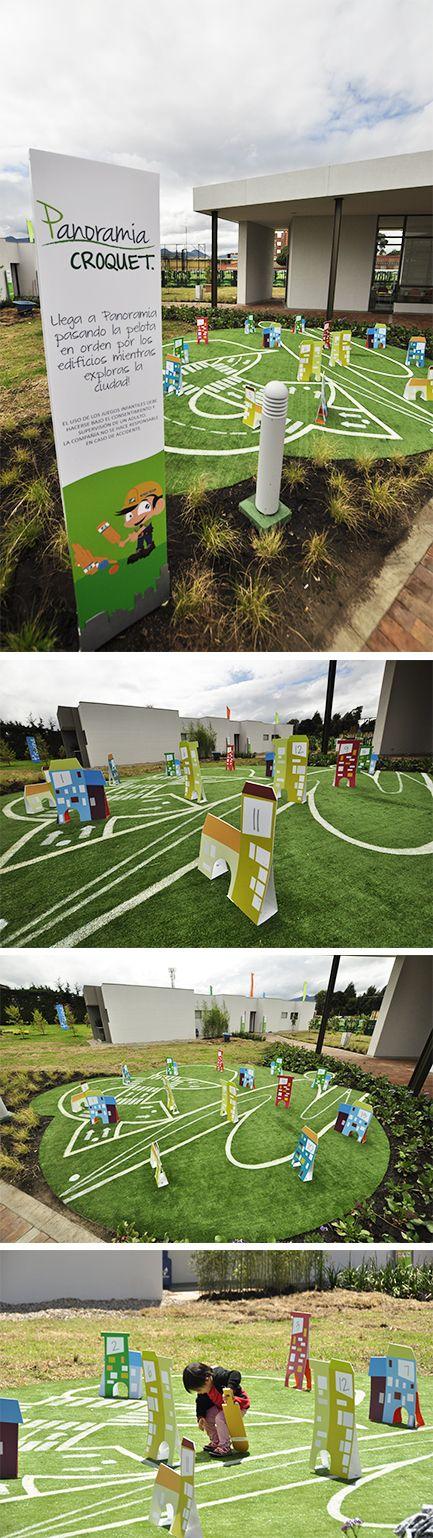 Zonas Infantiles exteriores que favorecen el aprendizaje #niños #diversion #juegos #ModosExhibiciónInmobiliaria