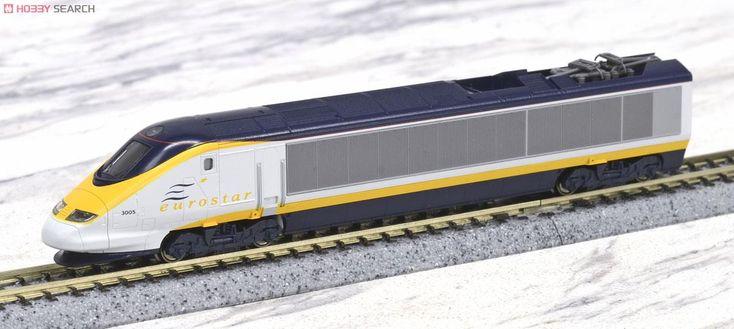 KATO ユーロスター (基本・8両セット) (鉄道模型)