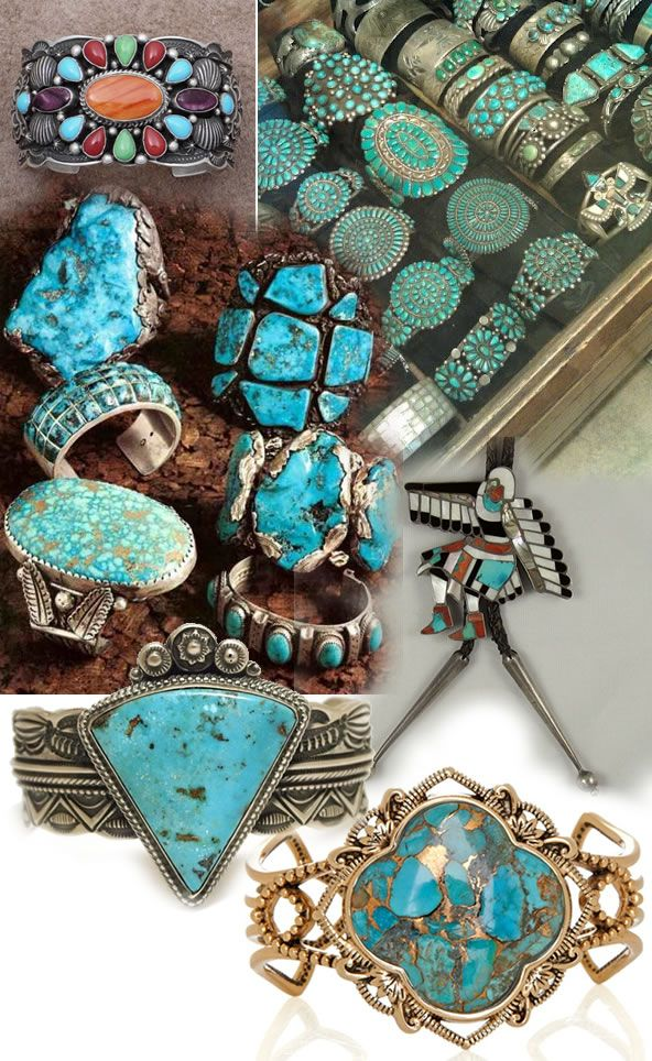 Colecionadora de Moda: Zuni Jewelry